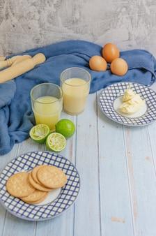 Delicius lemon pie-ingrediënten