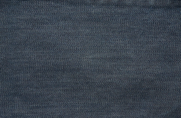 Denim stof textuur close-up