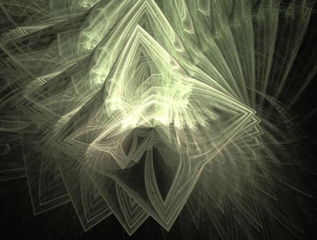 Denkbeeldige weelderige fractal textuur gegenereerde afbeelding abstracte achtergrond