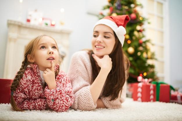 Denken over brief aan de kerstman