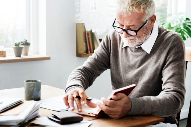Desk document handtekening transaction writer concept