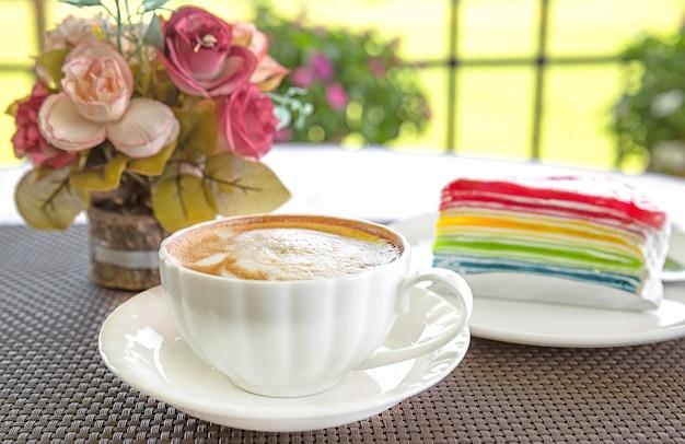 Dessert en koffie