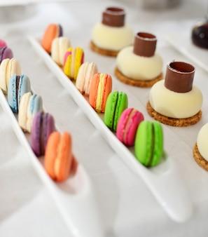 Desserts variëteit