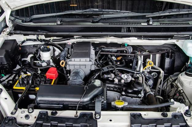 Detail motor auto's