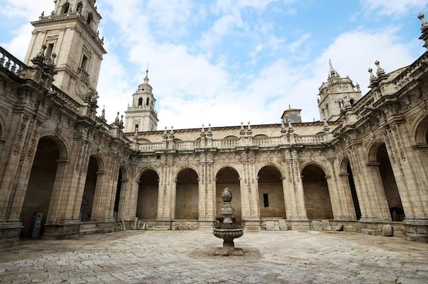 Detail van de binnenkant van kathedraal lugo