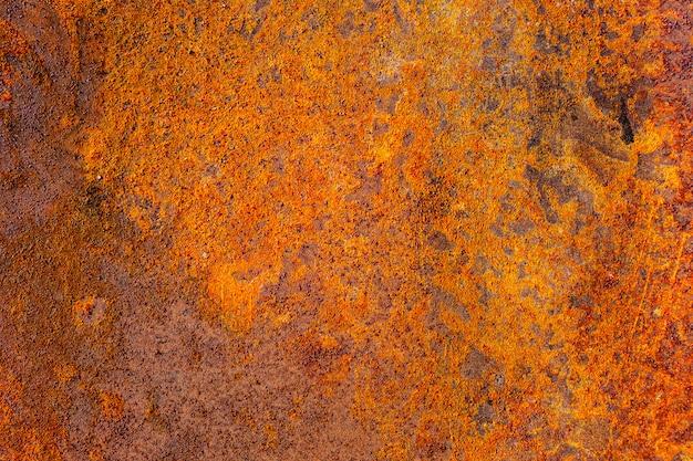 Detail van een bruine de vlektextuur van de grungeroest