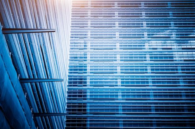 Detail van glazen architecturen