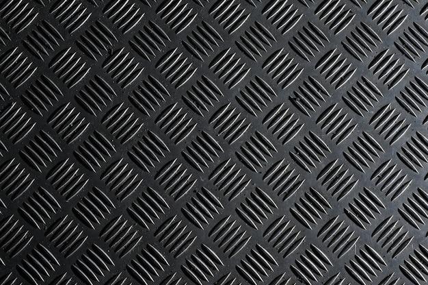Detail van het patroon van een putdeksel.