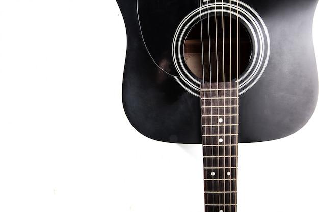 Detail van klassieke gitaar