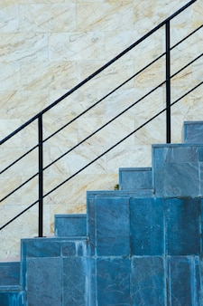 Detail van stedelijke trappen