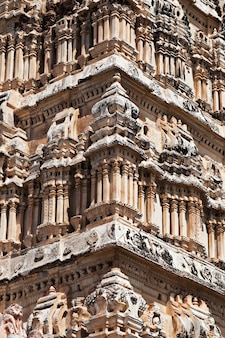 Detail van virupaksha-tempel