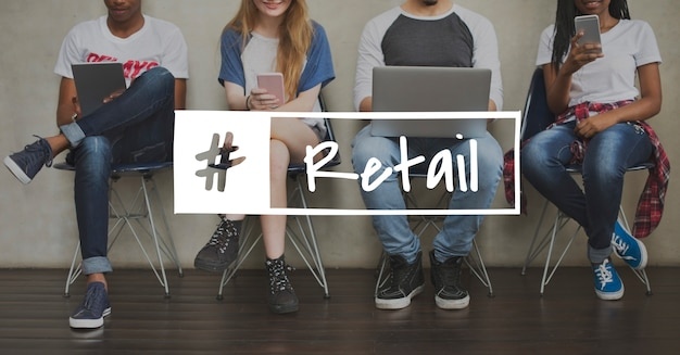Detailhandel aankoopbevordering winkelen kopen verkopen