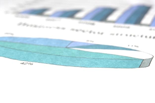 Detailopname. een diagram met bedrijfsstructurering.bedrijfsachtergrond