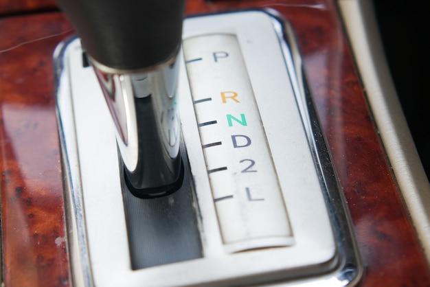 Detailopname van een auto-uitrusting