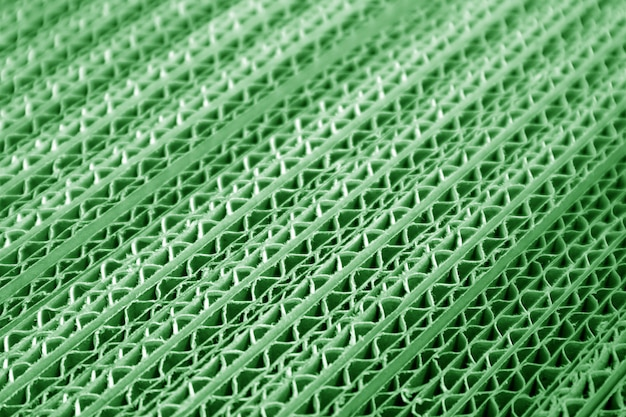 Details van groene kleur golfdocument dozen