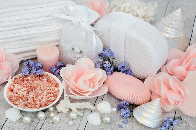 Detox spa-behandeling met himalaya zeezout