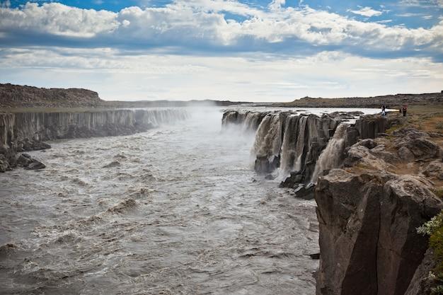 Dettifoss waterval in ijsland