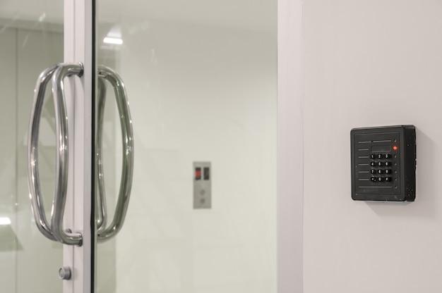 Deur toegangscontrole toetsenbord met keycard reader