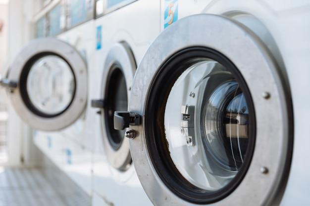 Deur van een wasmachine