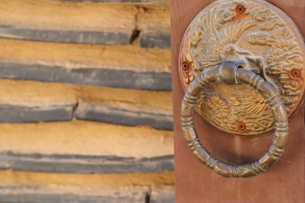 Deurkrukken in traditioneel koreaans