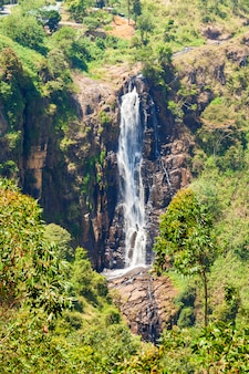 Devon falls, nuwara eliya