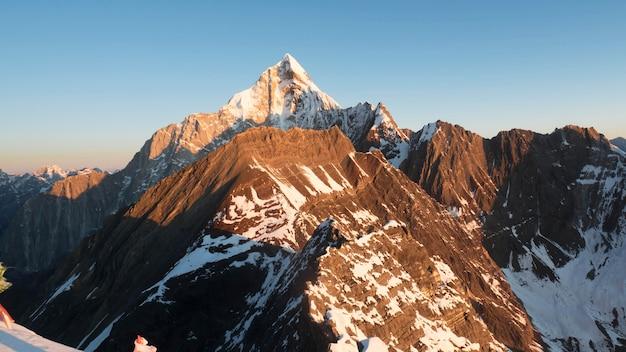 Deze berg wordt ook wel de vierzusterberg genoemd en bevindt zich in siguniang shan china