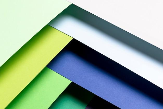 Diagonaal koel kleurenpatroon