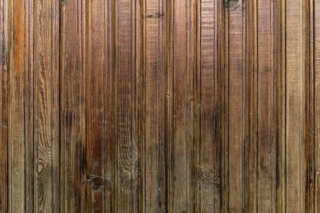Diagonale houtstructuur van houten muur voor achtergrond en textuur.