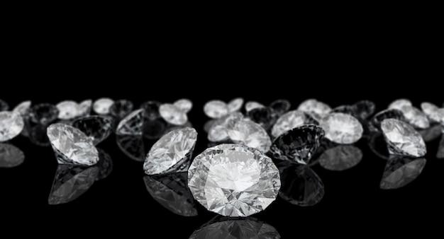 Diamant klassiek gesneden