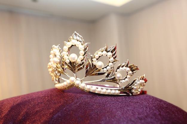 Diamond silver crown miss pageant schoonheidswedstrijd