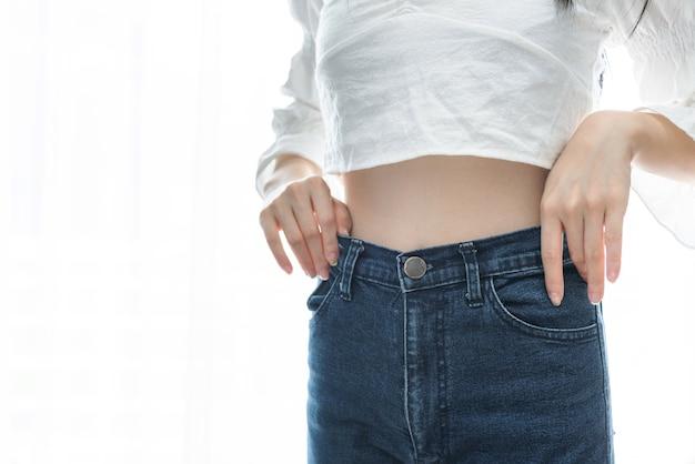 Dieet en gewichtsverlies concept