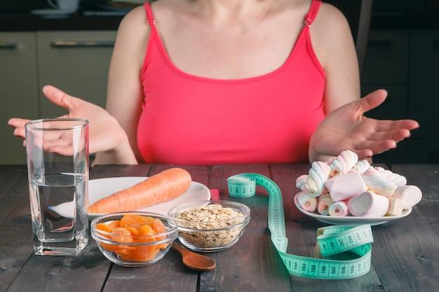 Dieetkeuze snoep of wortel