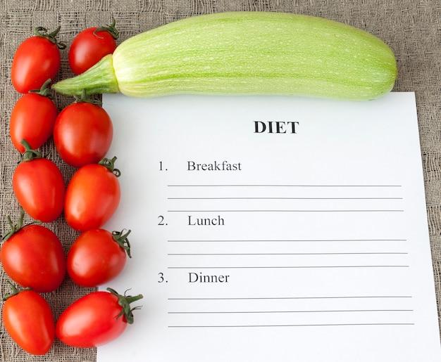 Dieetplannen, conceptuele gezondheid