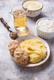 Dieetvoeding voor de zieke maag