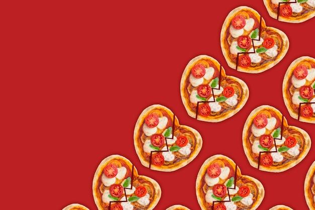 Diepbedroefde pizza om alleen te eten