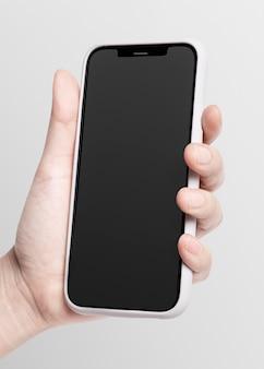 Digitaal apparaat op het scherm van de mobiele telefoon