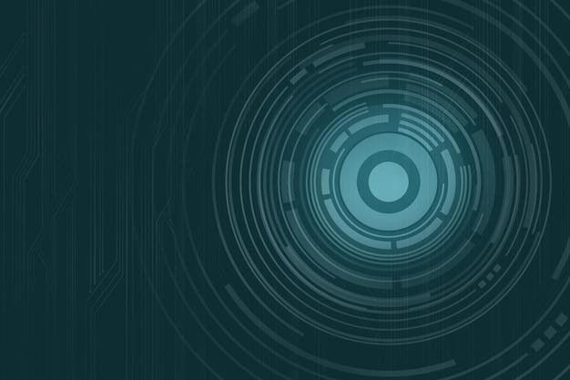 Digitaal concentrisch patroon