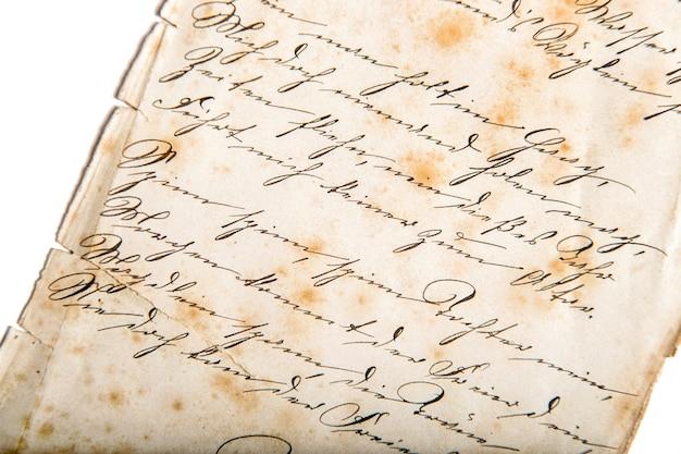 Digitaal papier. ongedefinieerde handgeschreven tekst. gebruikte textuur achtergrond