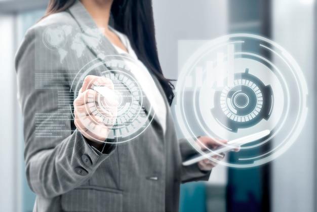Digitaal technologie concept