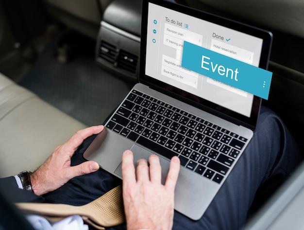 Digital business to doen app-interface