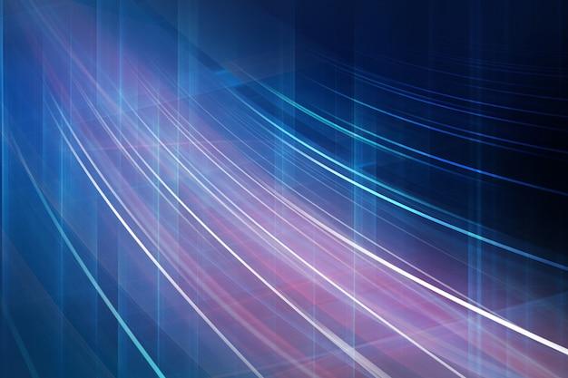 Digitale abstracte achtergrond met bocht curve en hoogtepunten