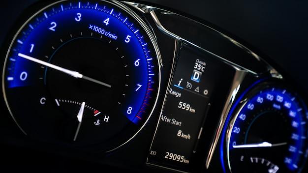 Digitale auto snelheidsmeter