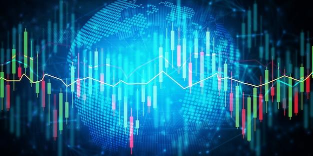 Digitale effectenbeurs handel achtergrond