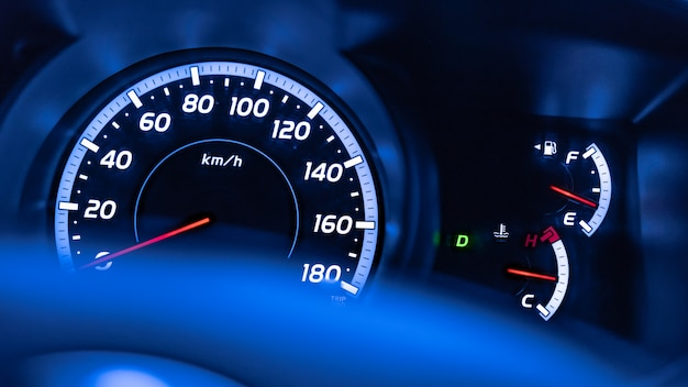 Digitale kilometerteller kilometerteller snelheidsmeter