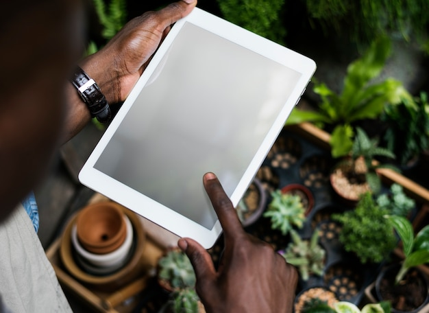 Digitale marketing apparaten netto gegevens digitale apparatuur tech