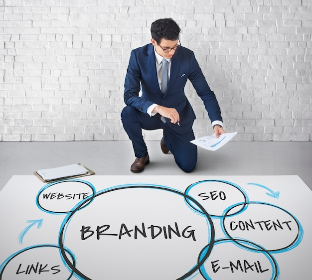 Digitale marketing branding loyaliteitsafbeeldingen