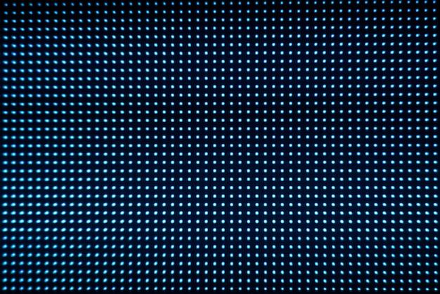 Digitale schermachtergrond. kleurenschermmonitor of tv met pixels en led's van dichtbij.