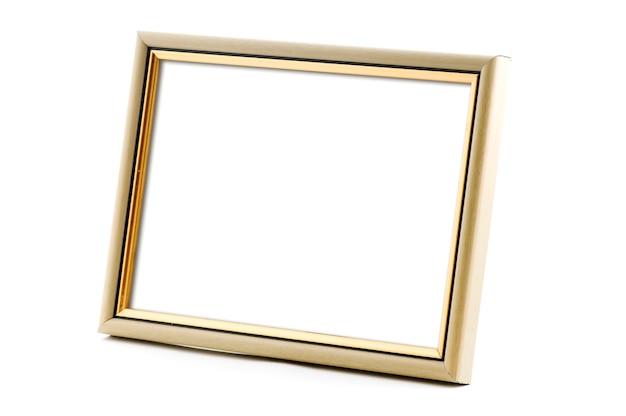 Dikke fotolijst met lege ruimte