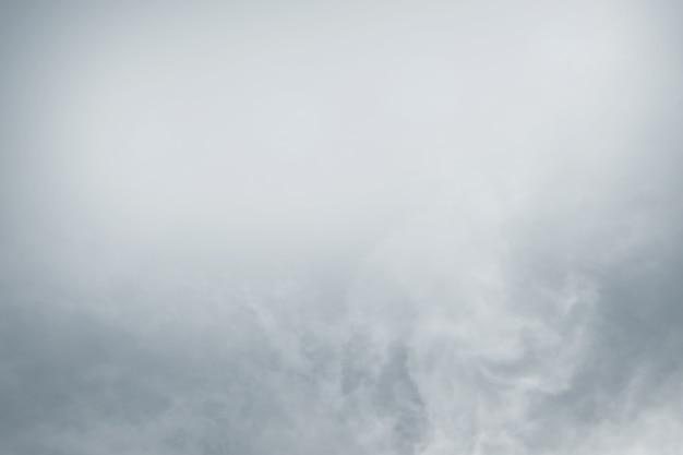Dikke mist van dichtbij