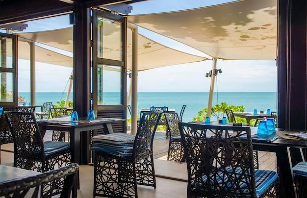 Diner tafel op het strand